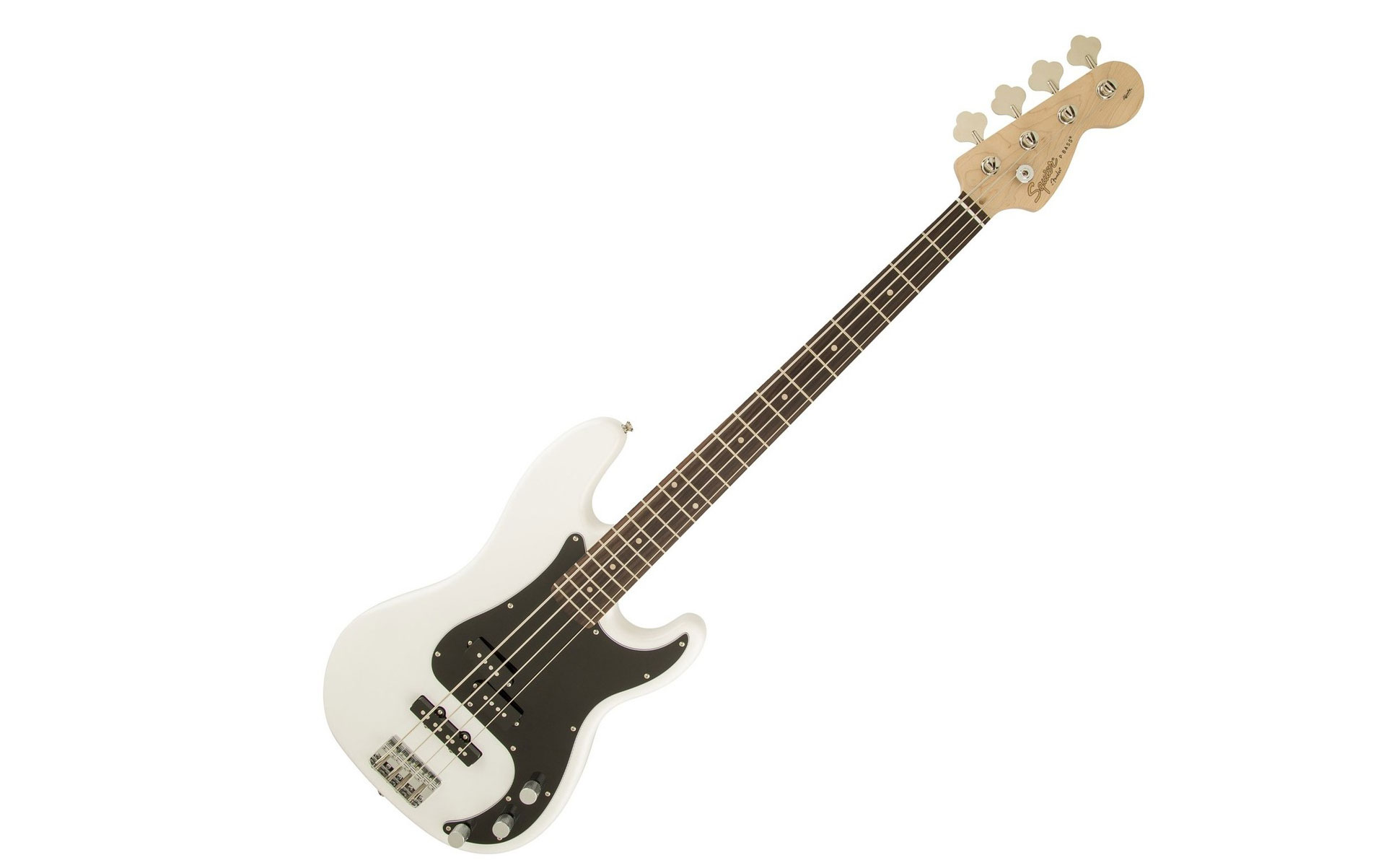 Squier Affinity Precision Jazz in white