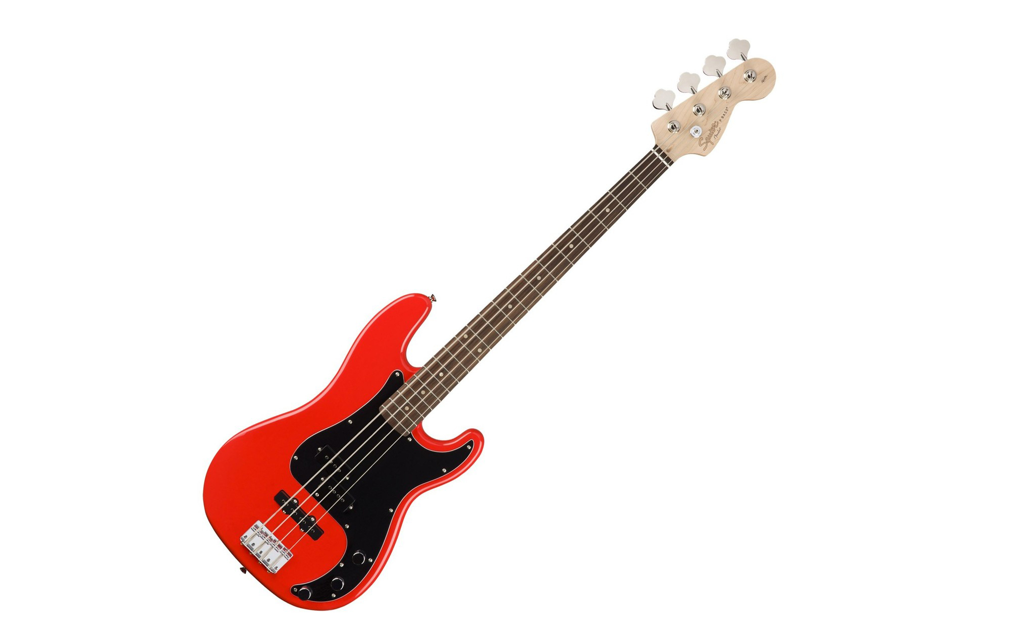 Squier Affinity Precision Jazz in red