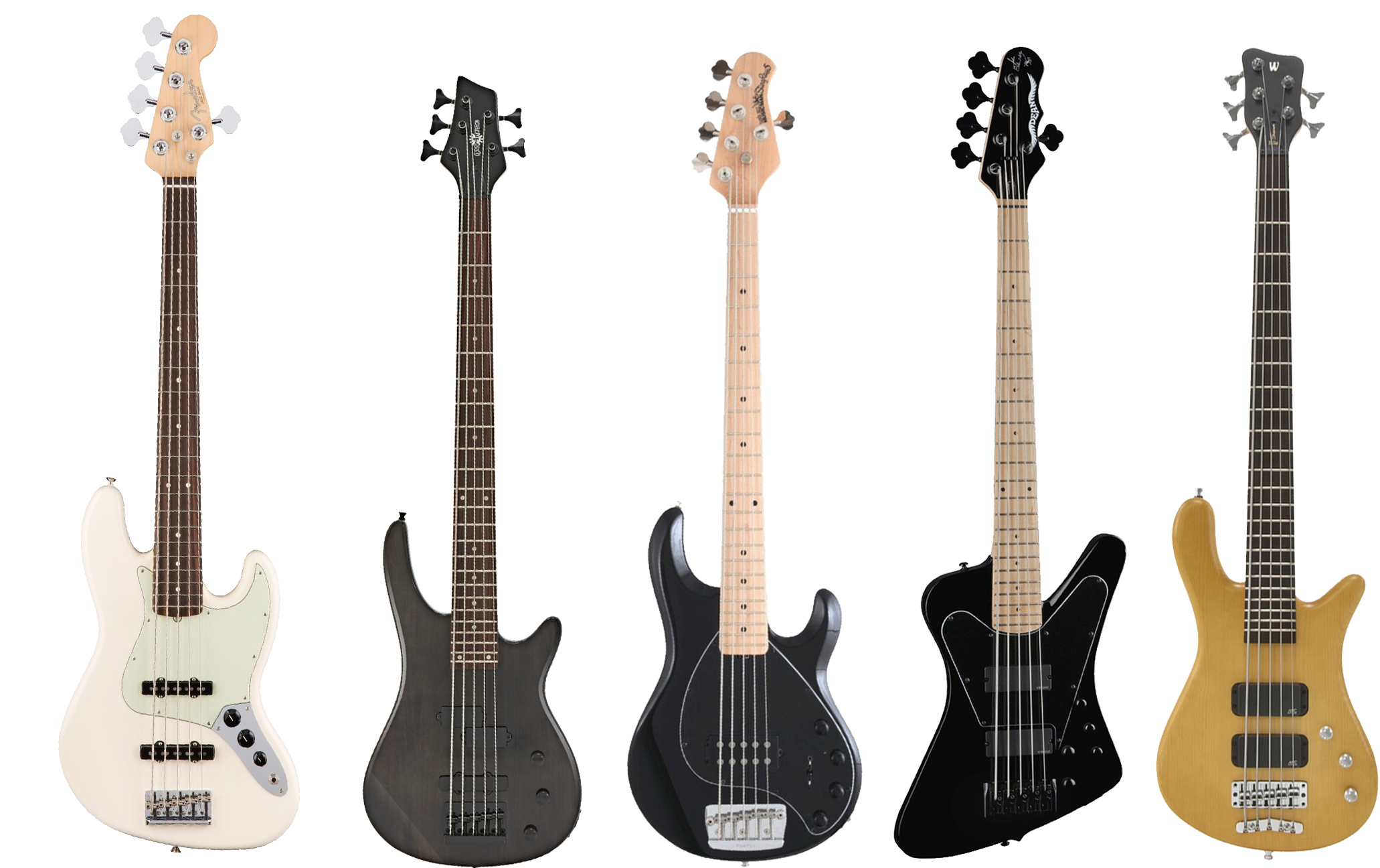 5 of the best 5 string basses
