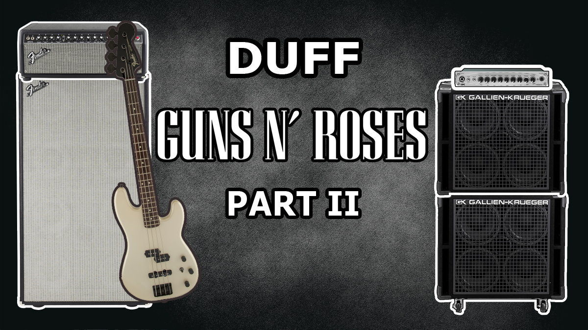 Duff Mckagan Amplifier Rig