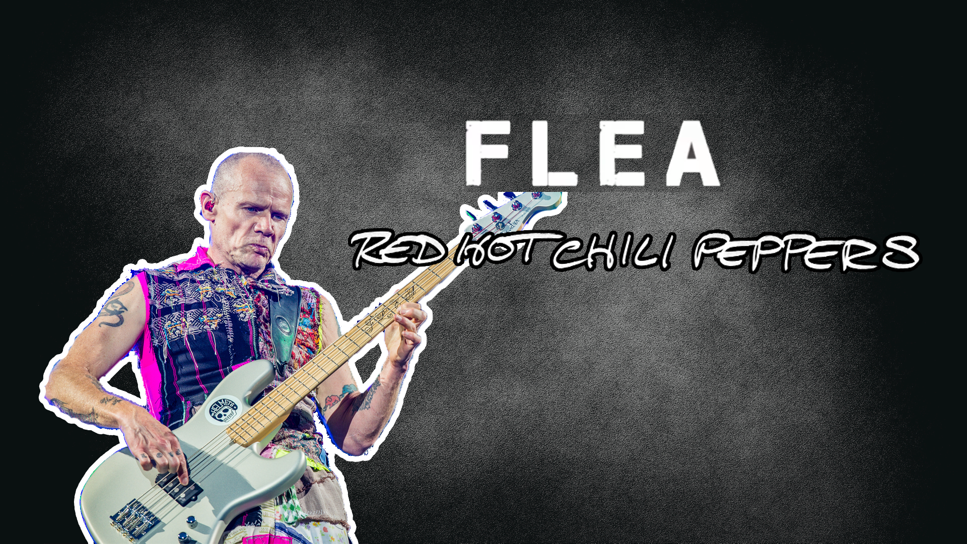 Flea's Bass Amplifier rig
