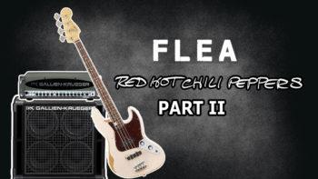 Flea's Bass Amplifier rig