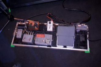 Tim commerford audioslave effect pedals