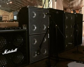 David Ellefsons amplifiers recording 2015